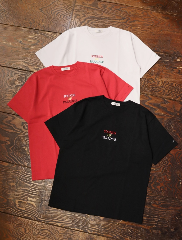 RADIALL  「LOS ANGELS - CREW NECK T-SHIRT S/S」  プリントティーシャツ