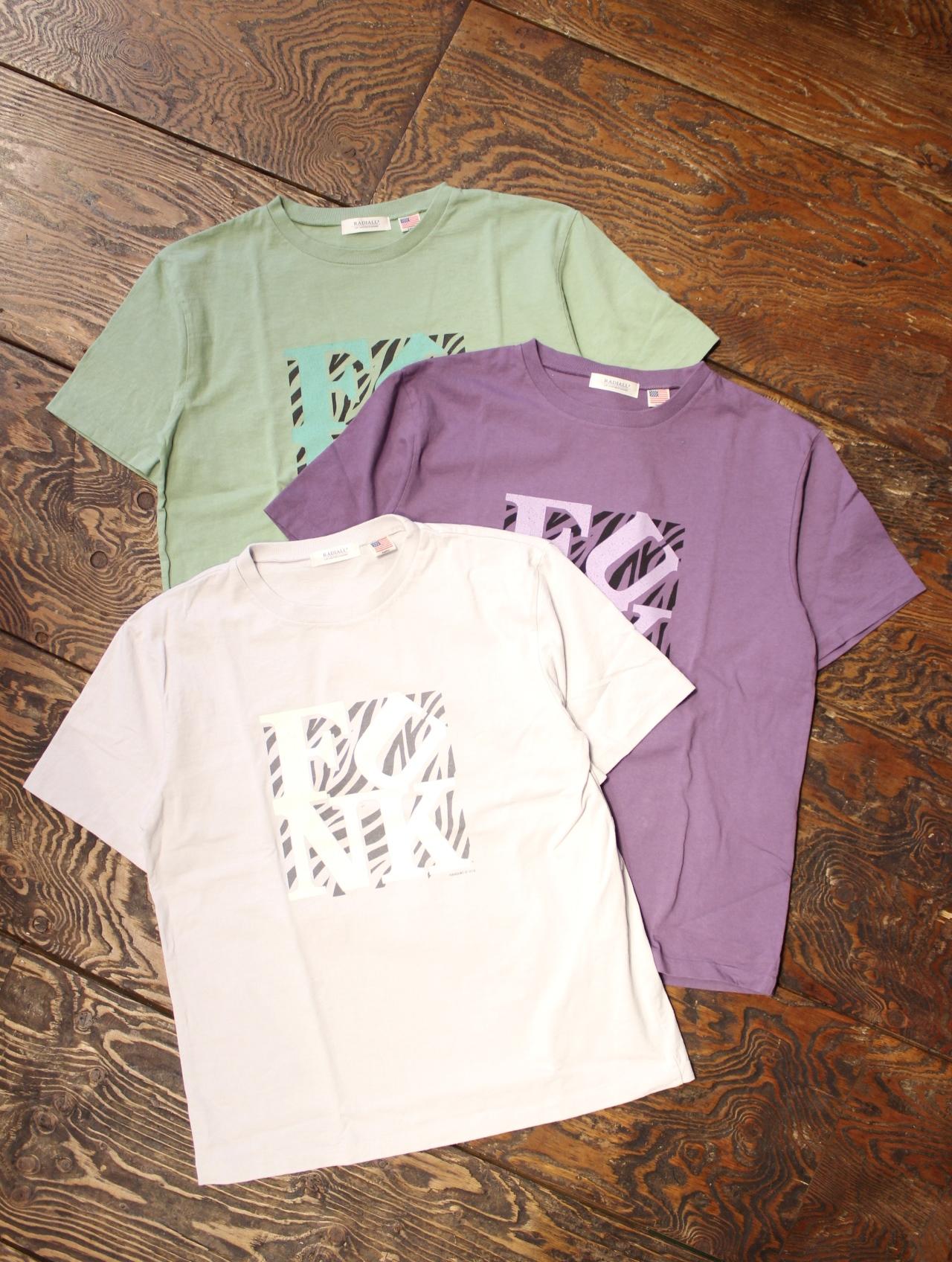 RADIALL  「KNAP TOWN - CREW NECK T-SHIRT」 プリントティーシャツ