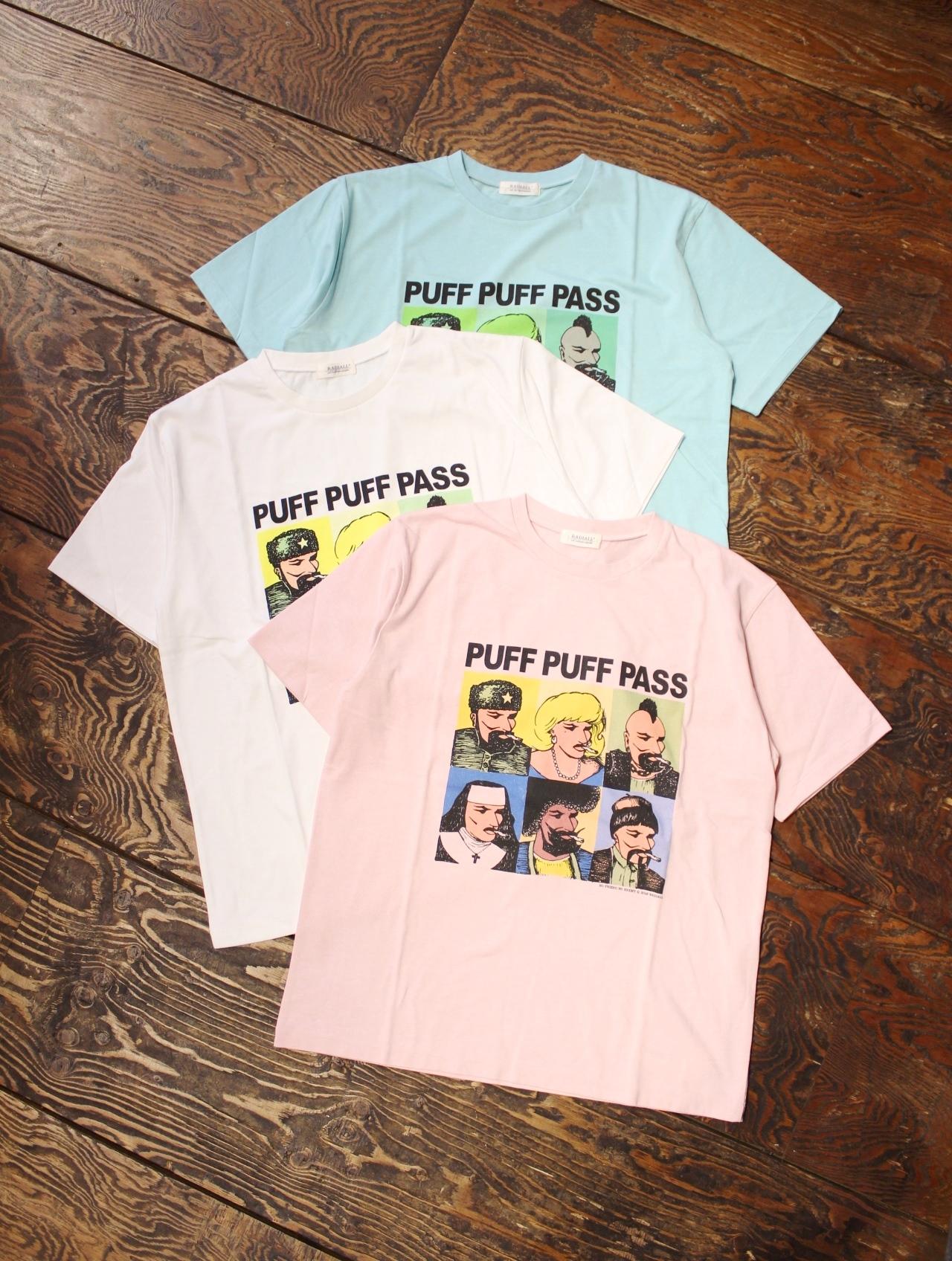 RADIALL  「PASS - CREW NECK T-SHIRT」 プリントティーシャツ