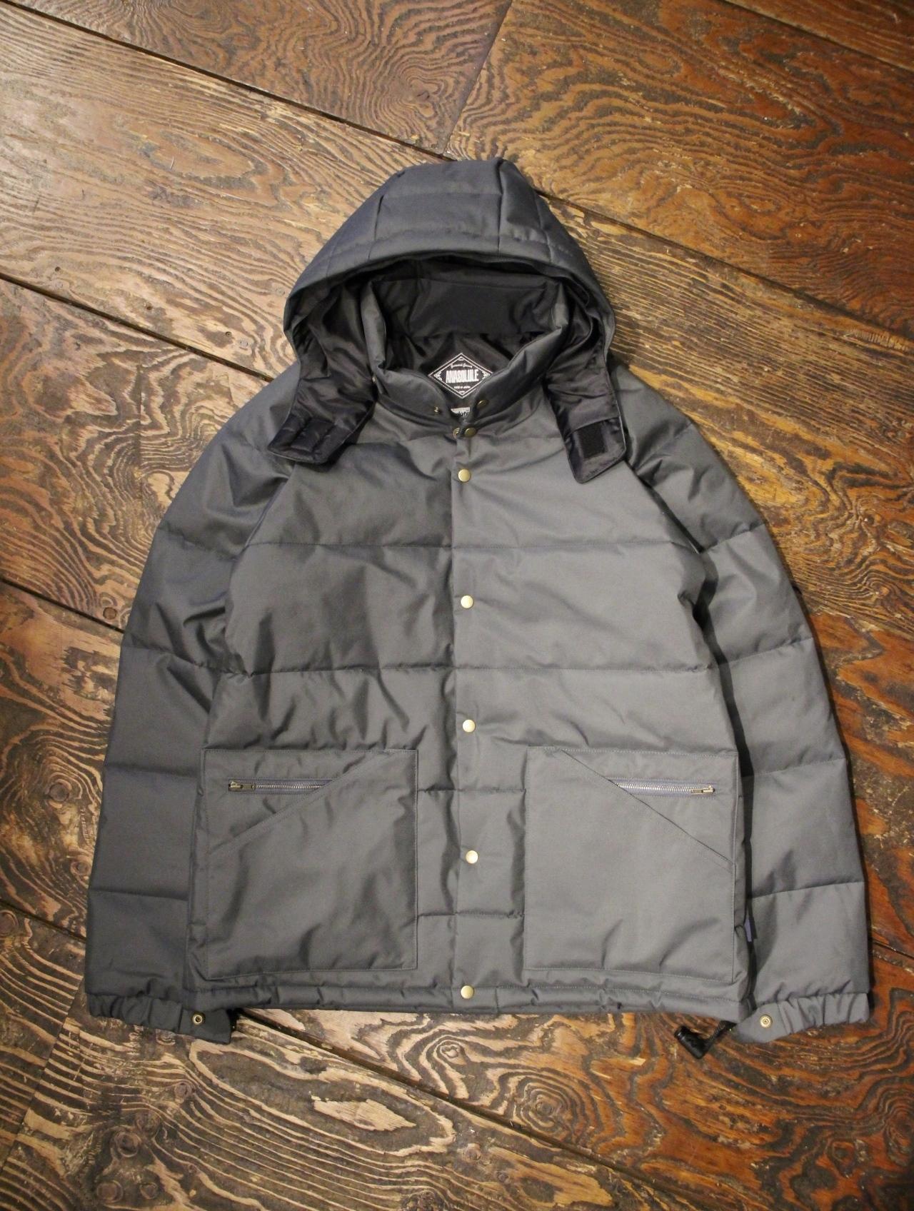ANASOLULE   「Thinsulate Hoodie-JKT」 シンサレートフードジャケット