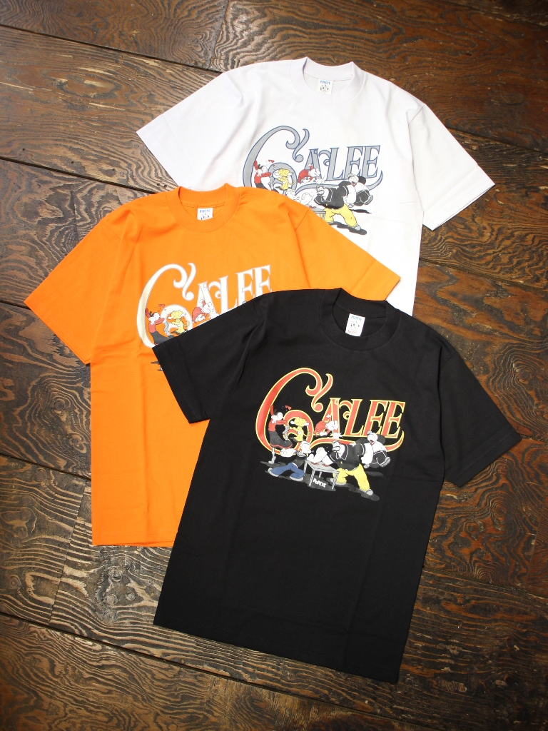 CALEE × POPEYE  「COLLABORATION PRINT T-SHIRT」    プリントティーシャツ