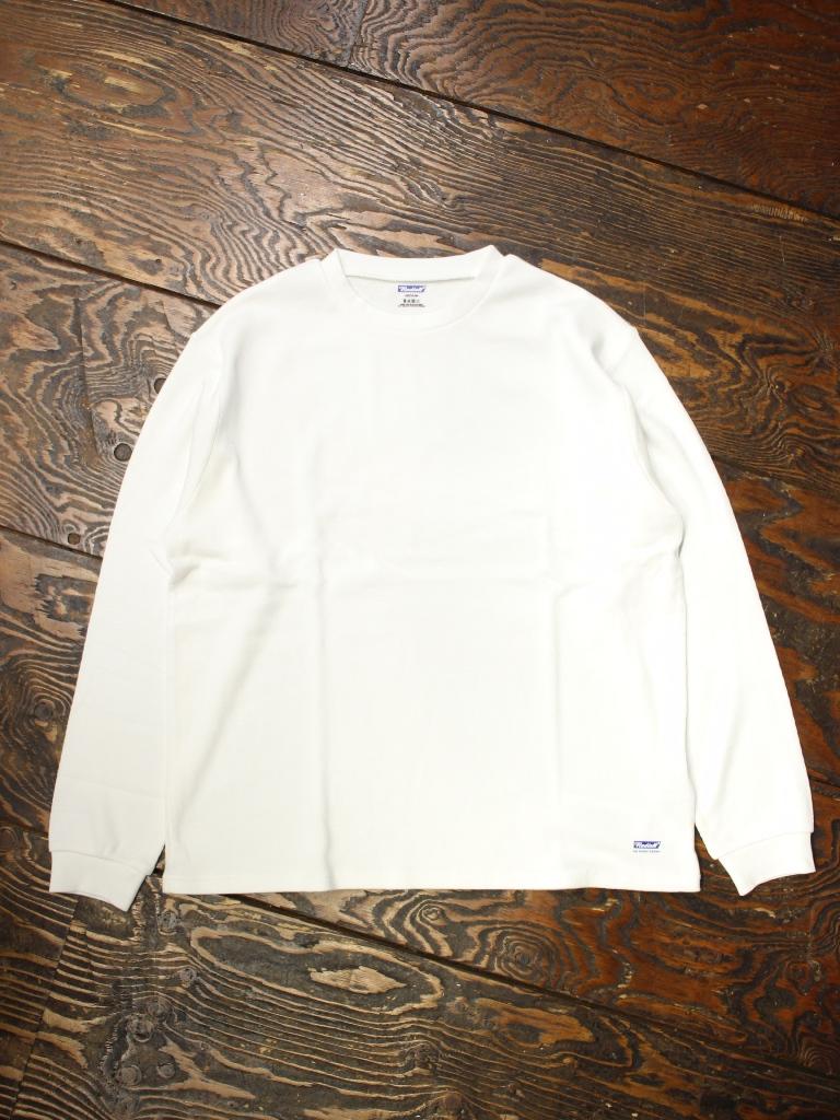 RADIALL 「BASIC - THERMAL CREW NECK T-SHIRT L/S」 サーマルロングスリーブティーシャツ