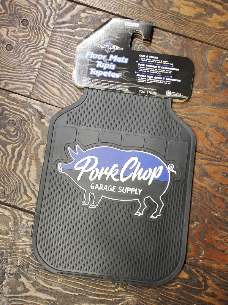 【再入荷 !!】 PORKCHOP GARAGE SUPPLY   「 PORK RUBBER MAT 」 ラバーマット