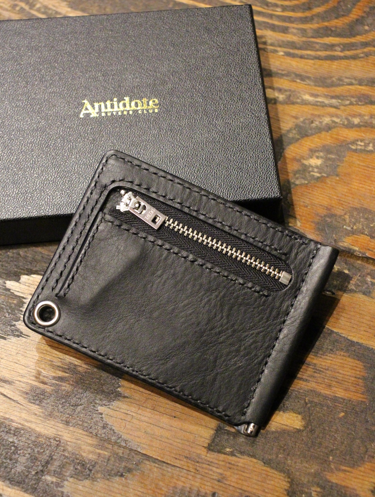 ANTIDOTE BUYERS CLUB by Cootie Productions  「 Money Clip Wallet 」 マネークリップウォレット