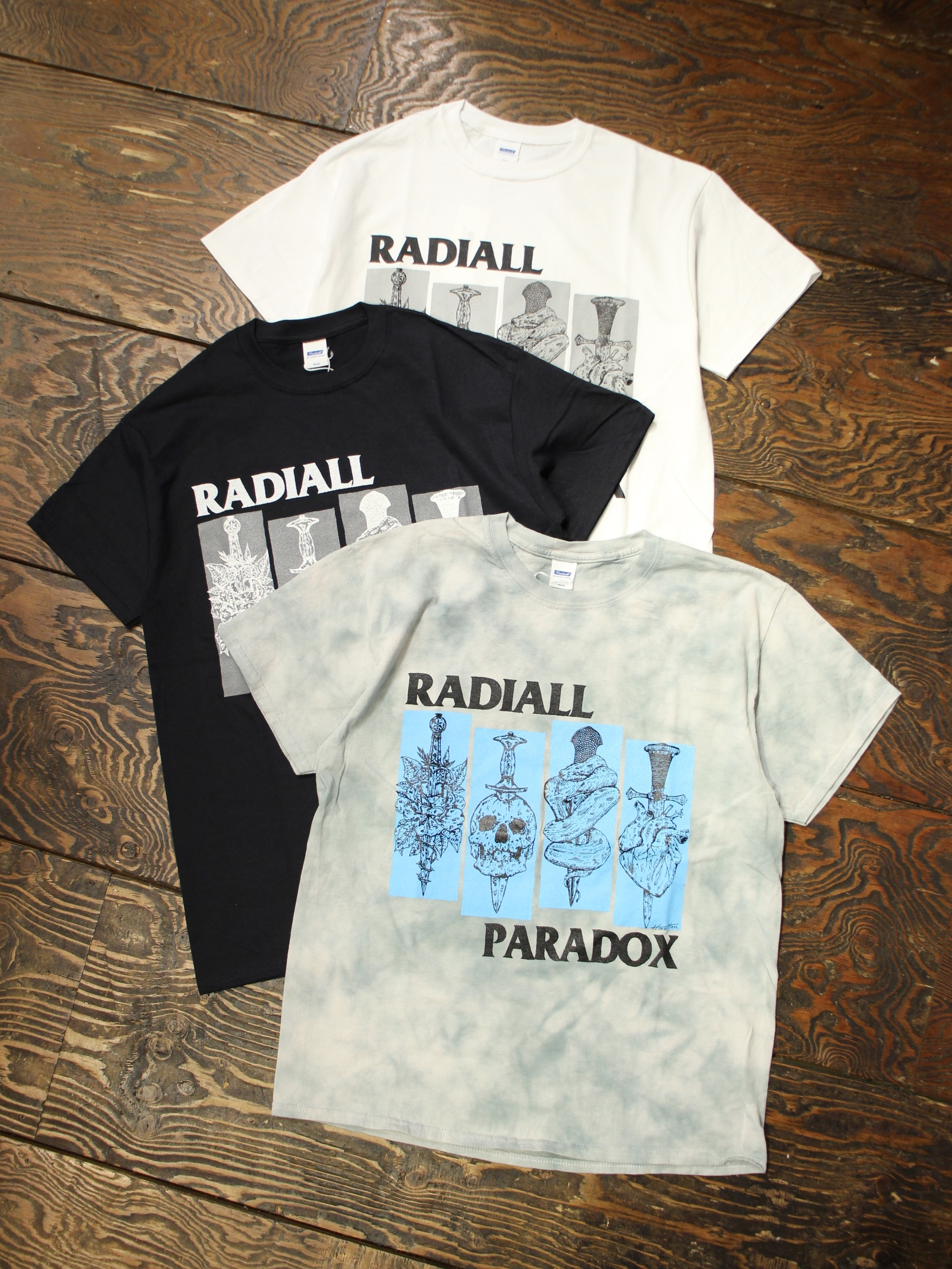 RADIALL  「SST - CREW NECK T-SHIRT S/S」 プリントティーシャツ