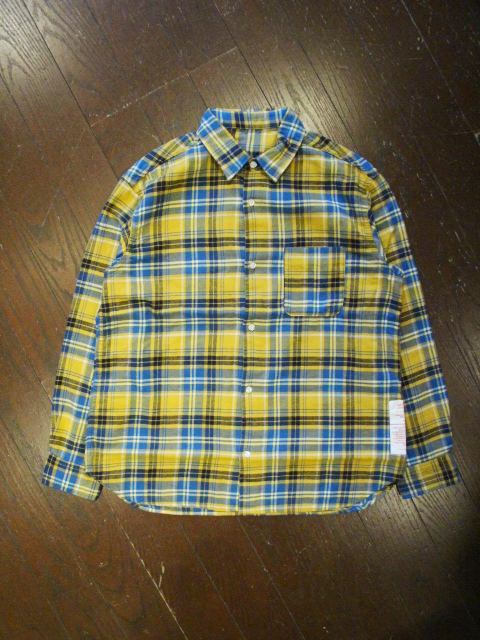 CAPTAINS HELM   「#OVER SIZE NEL SHIRT」  チェックネルシャツ