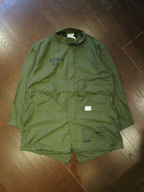 CAPTAINS HELM   「#FISH TAIL MILITARY JKT-CUSTOM」  フィッシュテールジャケット