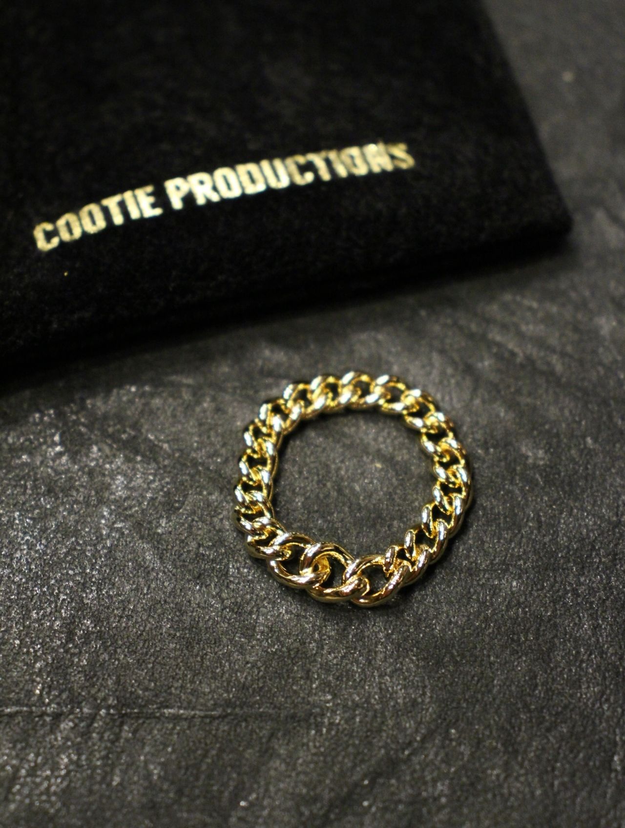 COOTIE  「 Raza Chain Ring 」 チェーンリング