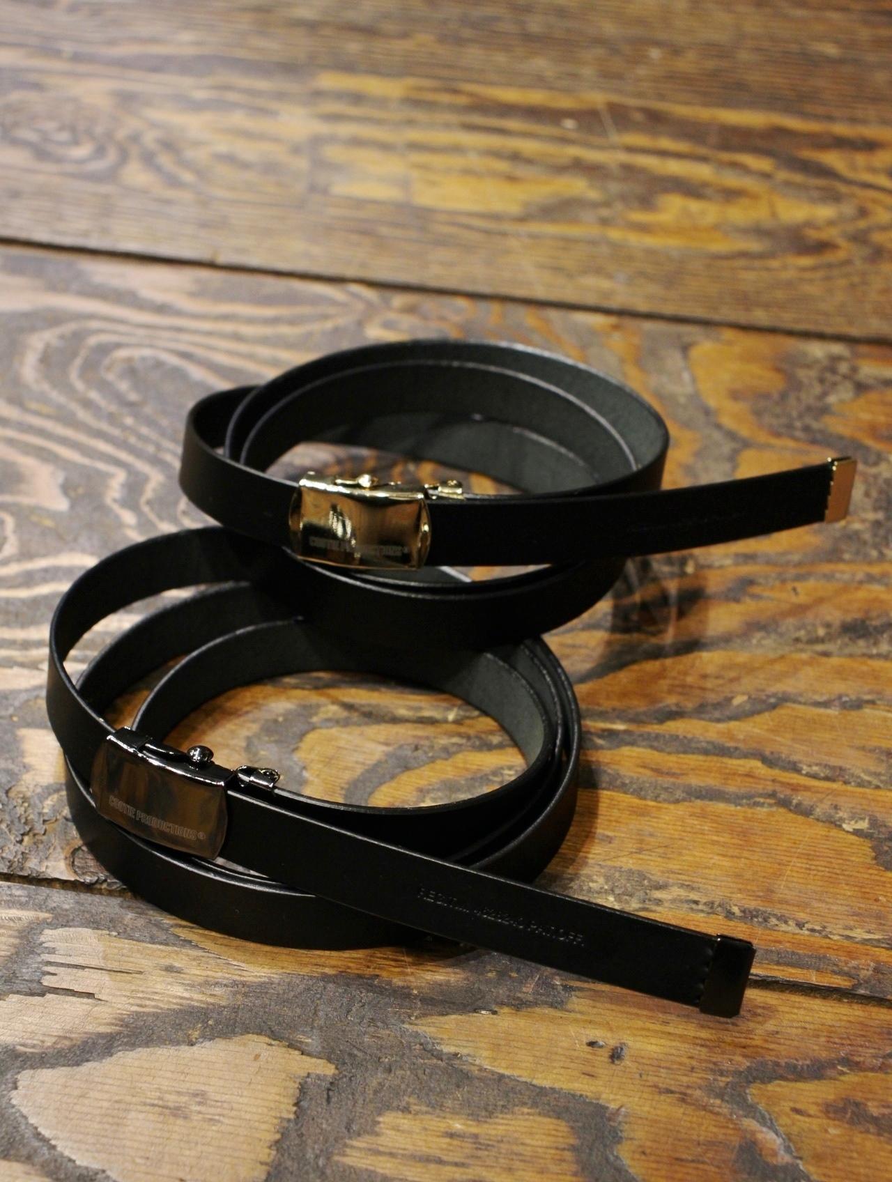 COOTIE   「 Leather Narrown G.I Belt 」  ナロータイプ レザーベルト