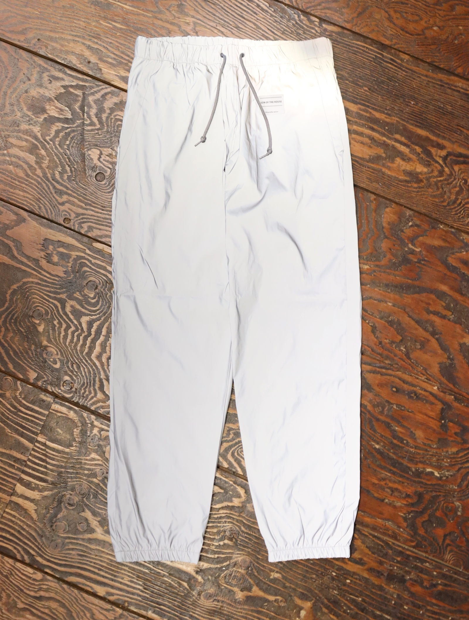 SON OF THE CHEESE  「REF Pants (SILVER)」  リフレクターイージーパンツ