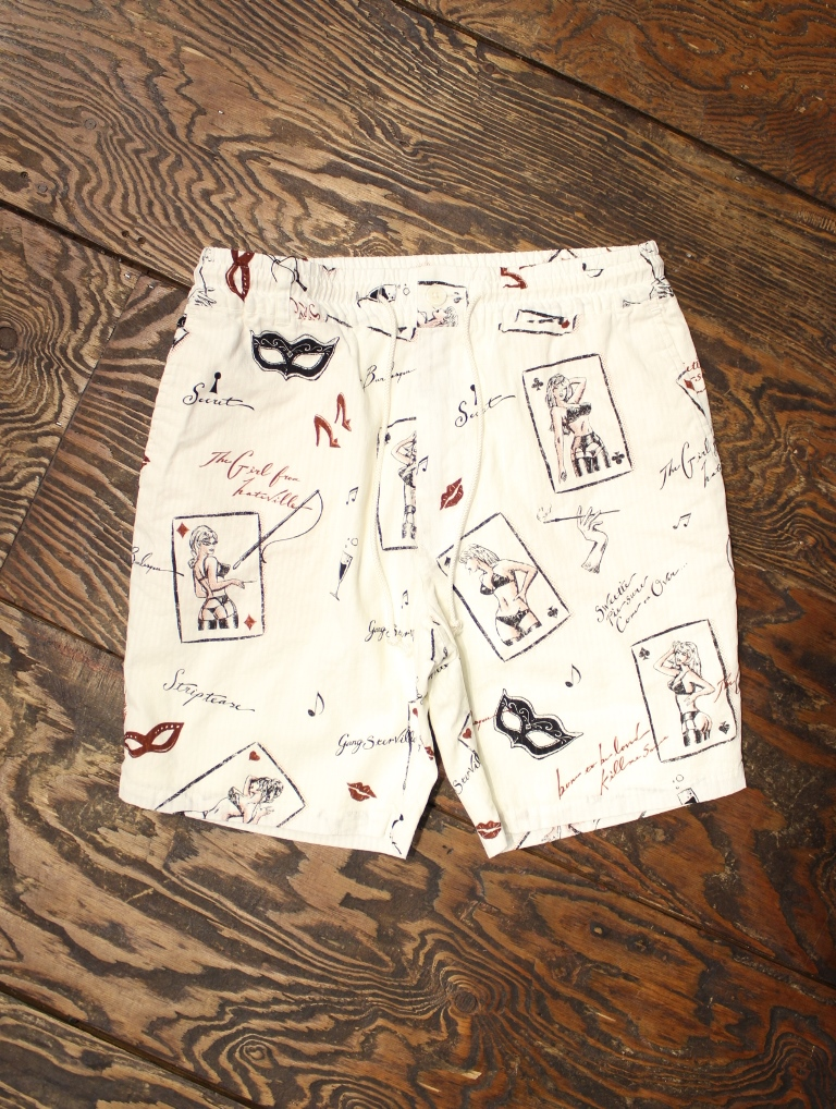 GANGSTERVILLE  「THUG QUEEN - SHORTS」  ショートパンツ