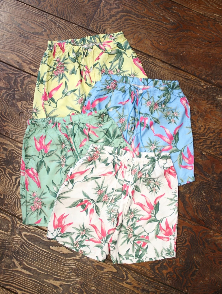 RADIALL  「PURPLE PISTILS - EASY SHORTS」  イージーショーツ