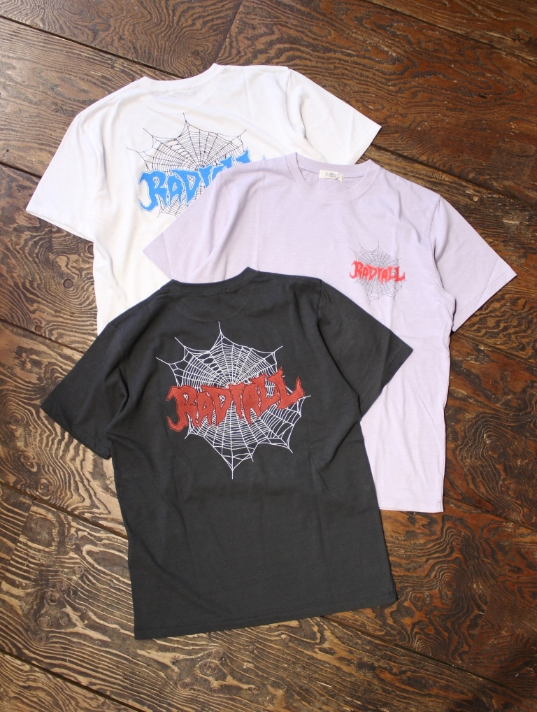 RADIALL 「BILLYS HOLIDAY - CREW NECK T-SHIRT」 プリントティーシャツ