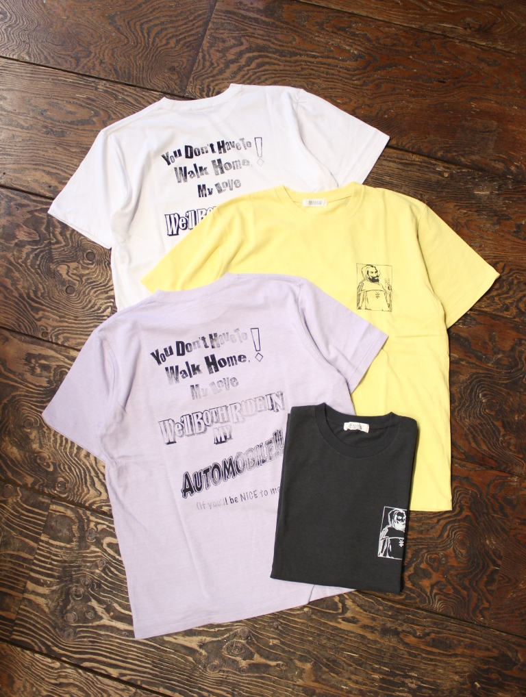 RADIALL 「MY AUTOMOBILE - CREW NECK T-SHIRT」 プリントティーシャツ