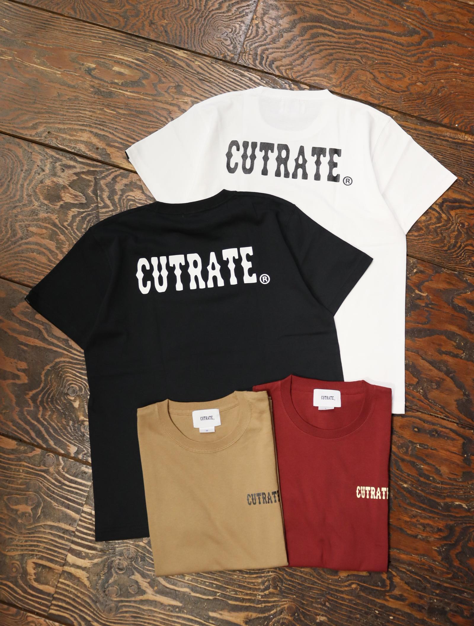 CUT RATE  「MAIN LOGO S/S T‐SHIRT」 プリントティーシャツ