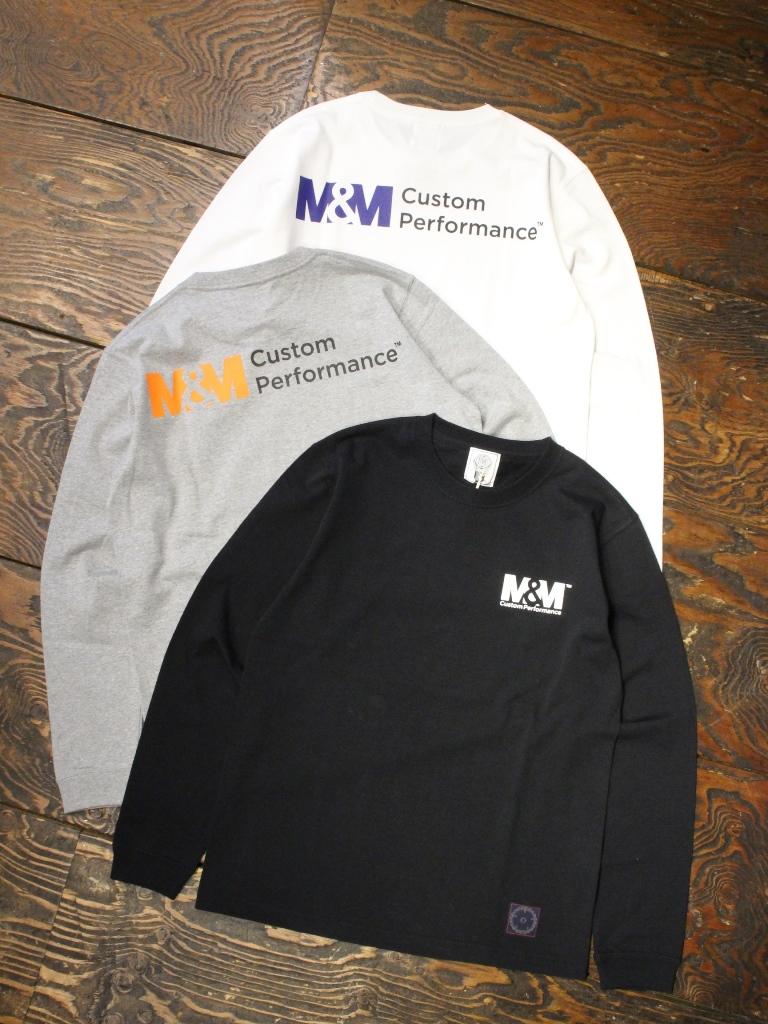【 2月18日発売!】M&M CUSTOM PERFORMANCE   「 PRINT L/S T-SHIRT 」 プリントロンティー