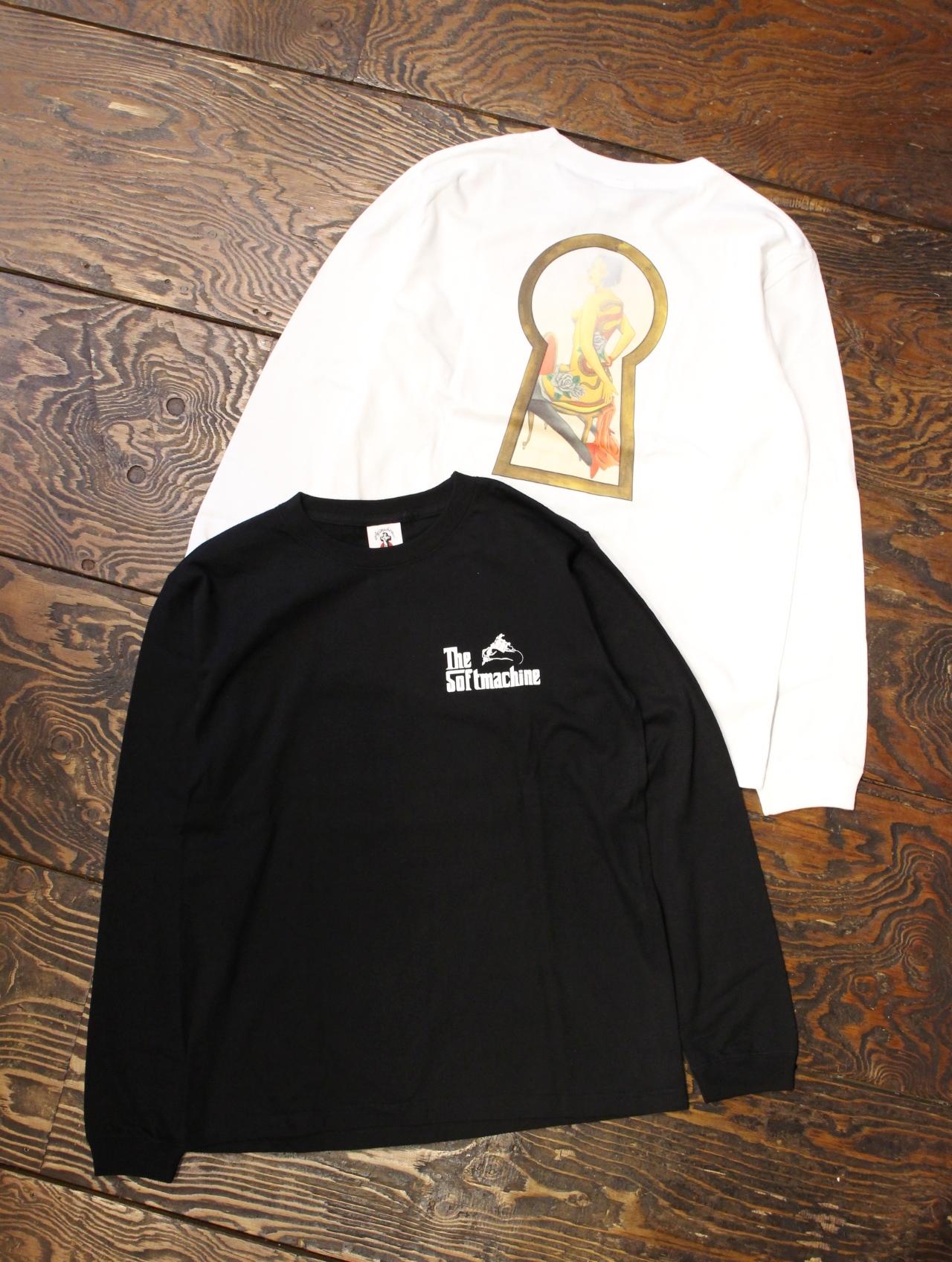 SOFTMACHINE  「PEEP L/S」 ロングスリーブティーシャツ