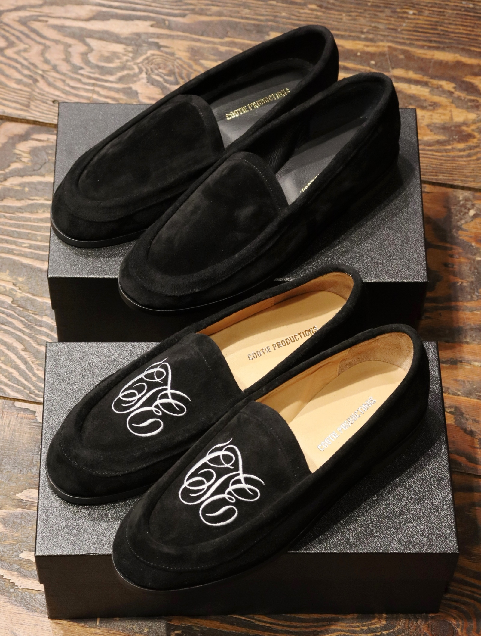 COOTIE  「Raza House Shoes (Horse Suede) 」 ハウスシューズ