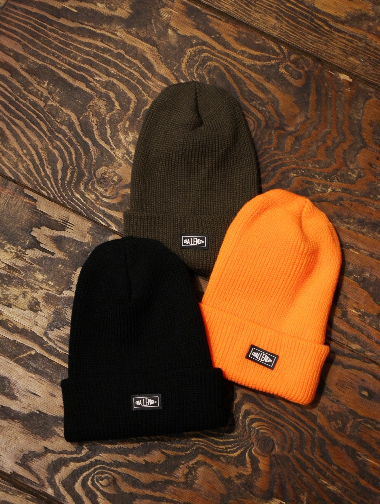 CHALLENGER   「RUBBER PATCH KNIT CAP」 ニットキャップ