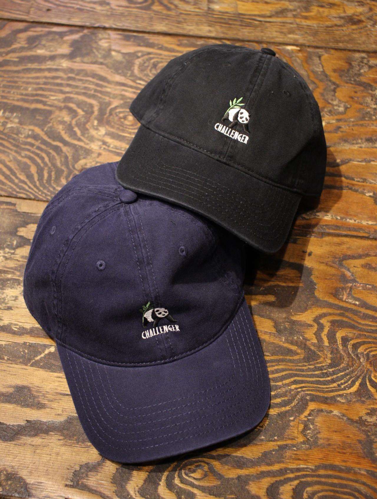 CHALLENGER   「PANDA BEAR CAP」  コットンツイルキャップ