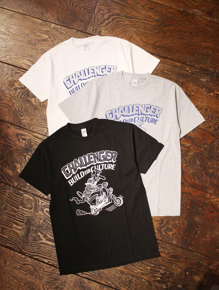 CHALLENGER  「×SKETCH RUSHING RIDER TEE」 プリントティーシャツ