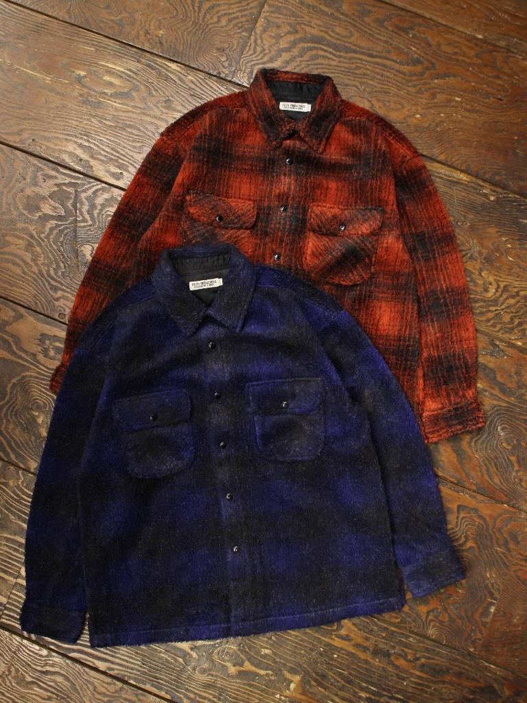 COOTIE  「 Ombre Boa Check CPO Jacket 」 ボアチェックCPOジャケット