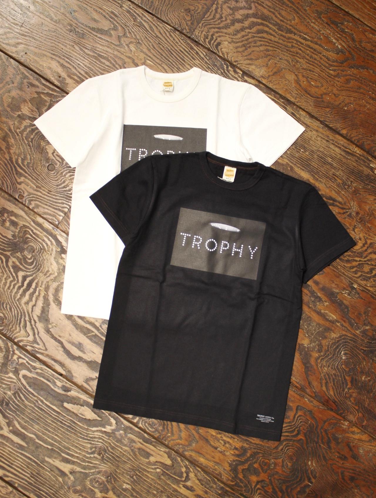 TROPHY CLOTHING  「GS Photo Crew Tee」 ボリュームコットン ティーシャツ