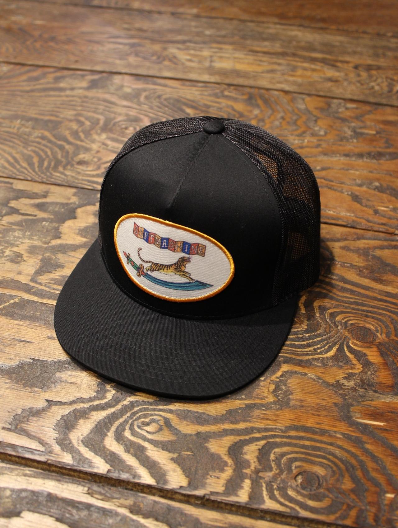 SOFTMACHINE   「SABER CAP」   ワッペンメッシュキャップ
