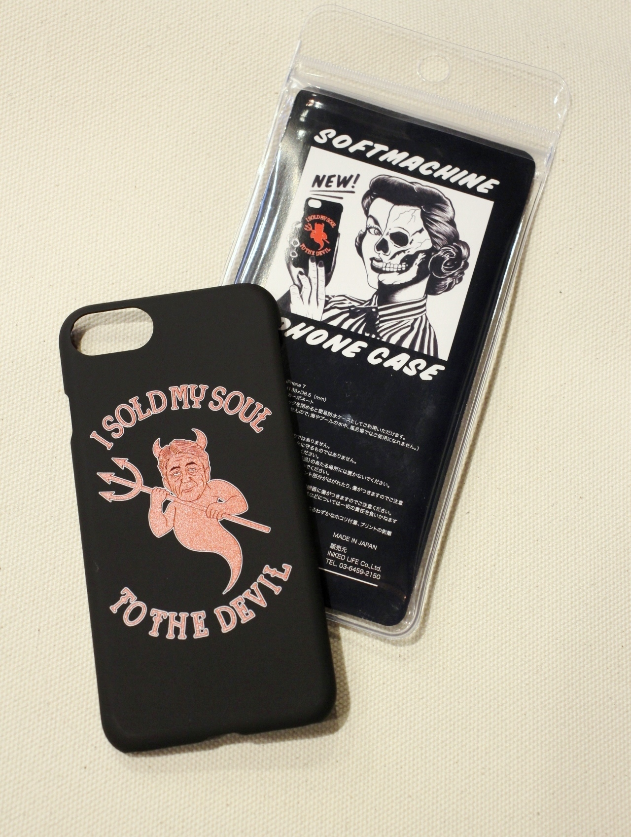 SOFTMACHINE   「HEART iPhone CASE 7 & 8」 iPhone 7 & 8 ケース