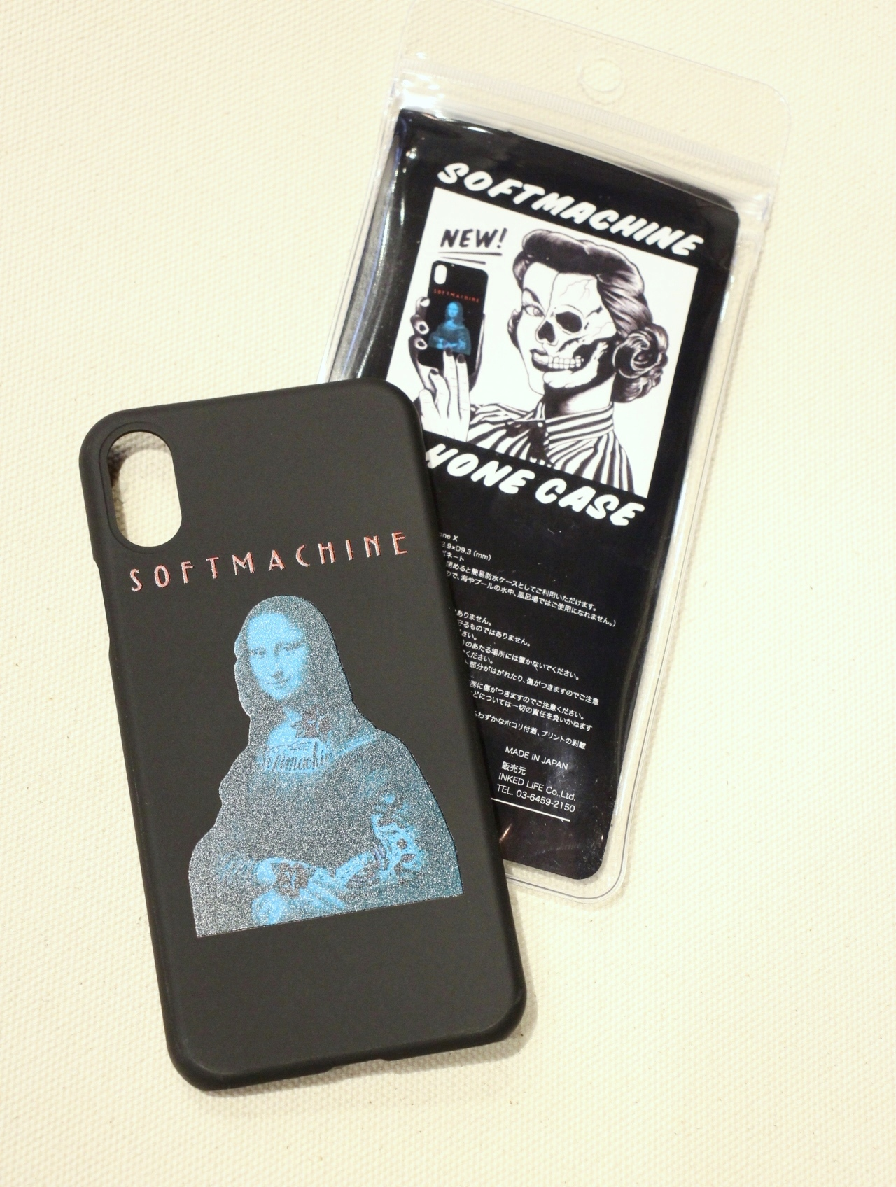SOFTMACHINE   「JOCONDE iPhone CASE X」 iPhone X ケース