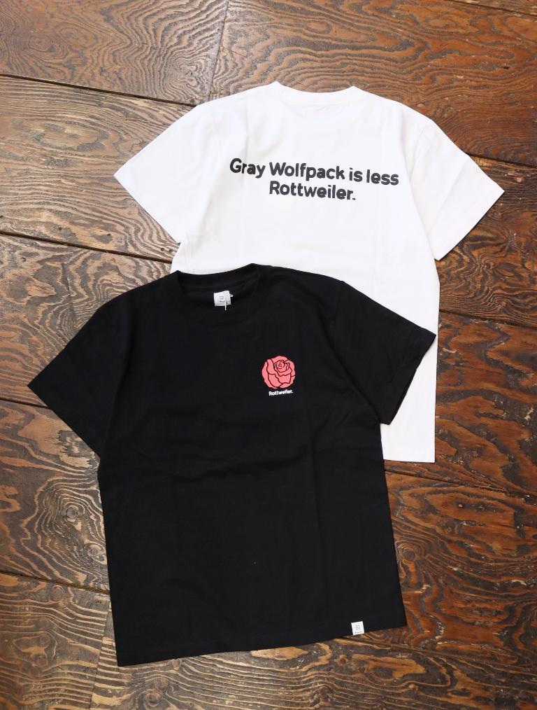 ROTTWEILER  「 ROSE TEE 」  プリントティーシャツ