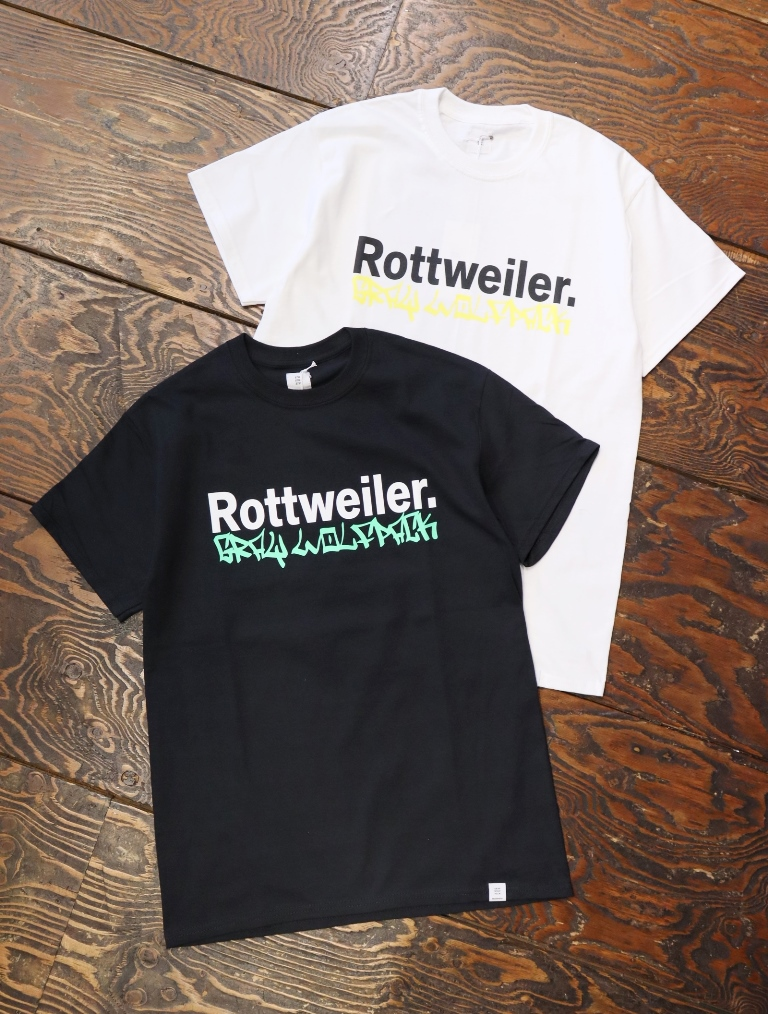 ROTTWEILER  「TAGGING. S/S TEE」  プリントティーシャツ