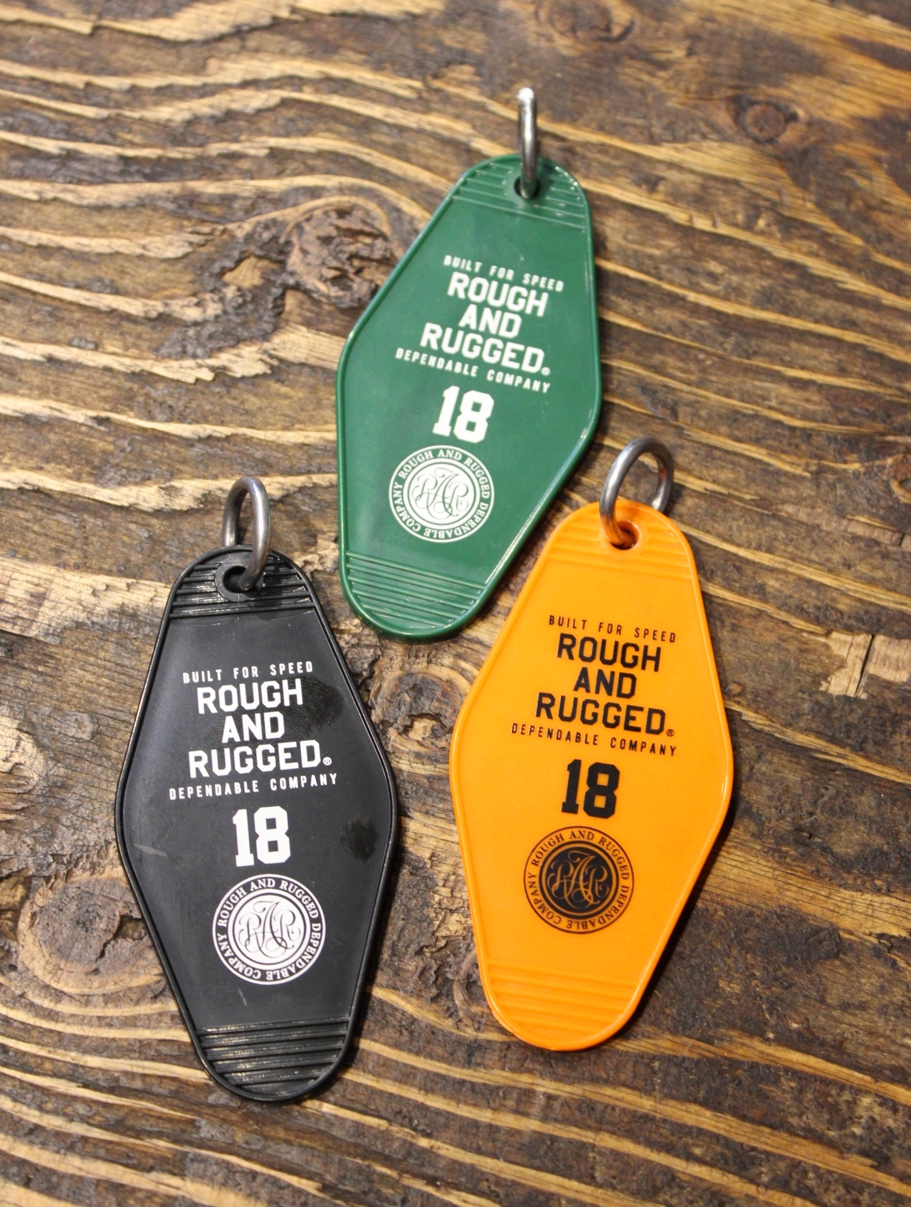 ROUGH AND RUGGED  「 RARDC HOTEL KEY 」 ホテルキー