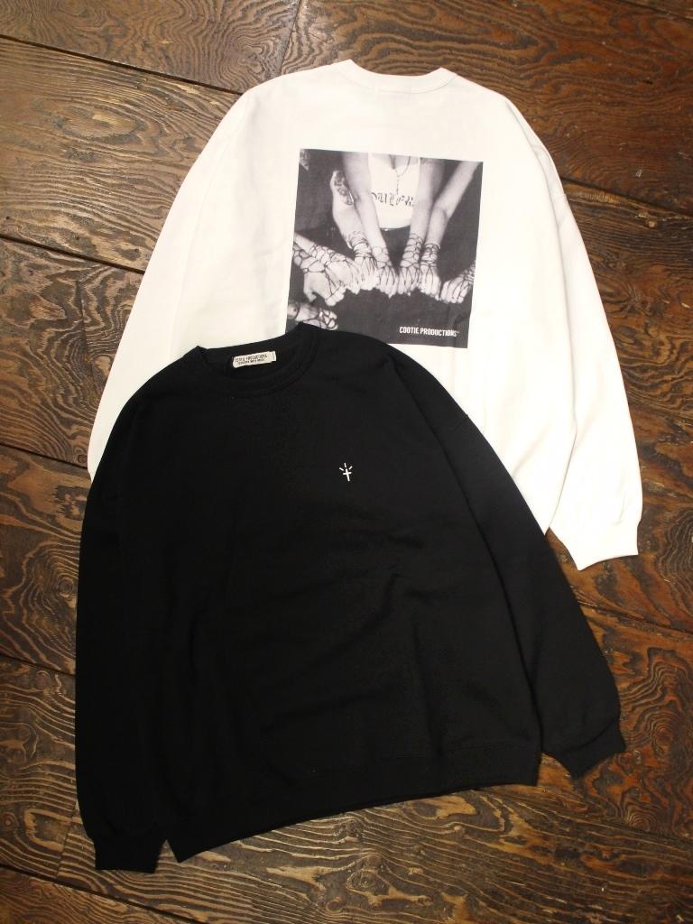COOTIE  「Print Crewneck Sweatshirt (CHOLA) 」 クルーネックスウェット
