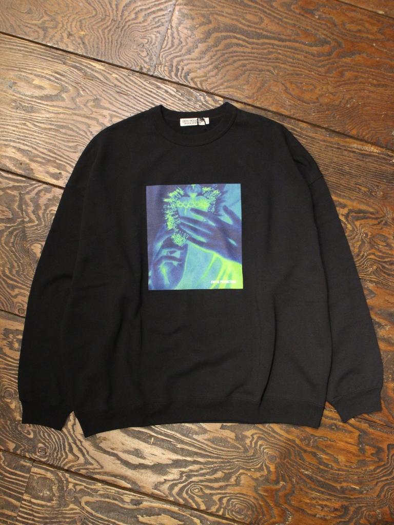 COOTIE  「Print Crewneck Sweatshirt (SACRED HEART) 」 クルーネックスウェット