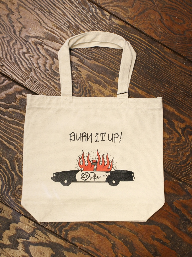 SOFTMACHINE  「BURN UP TOTE」 トートバッグ