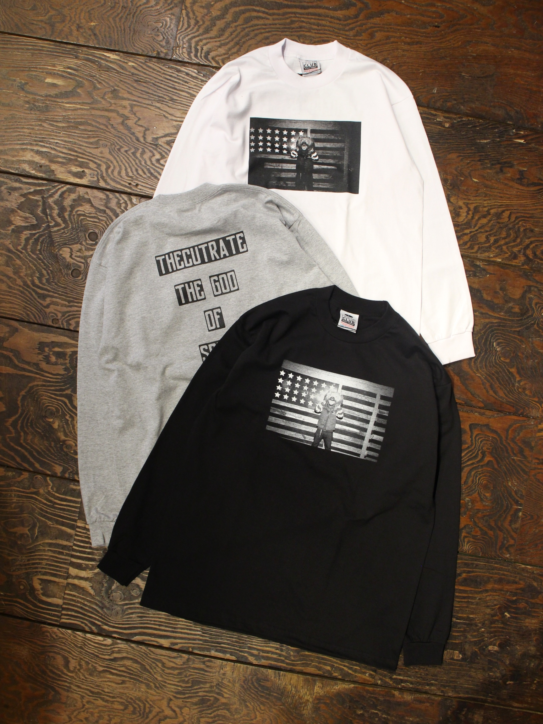 CUT RATE  「L/S PHOTO T-SHIRT」 プリントロンティー