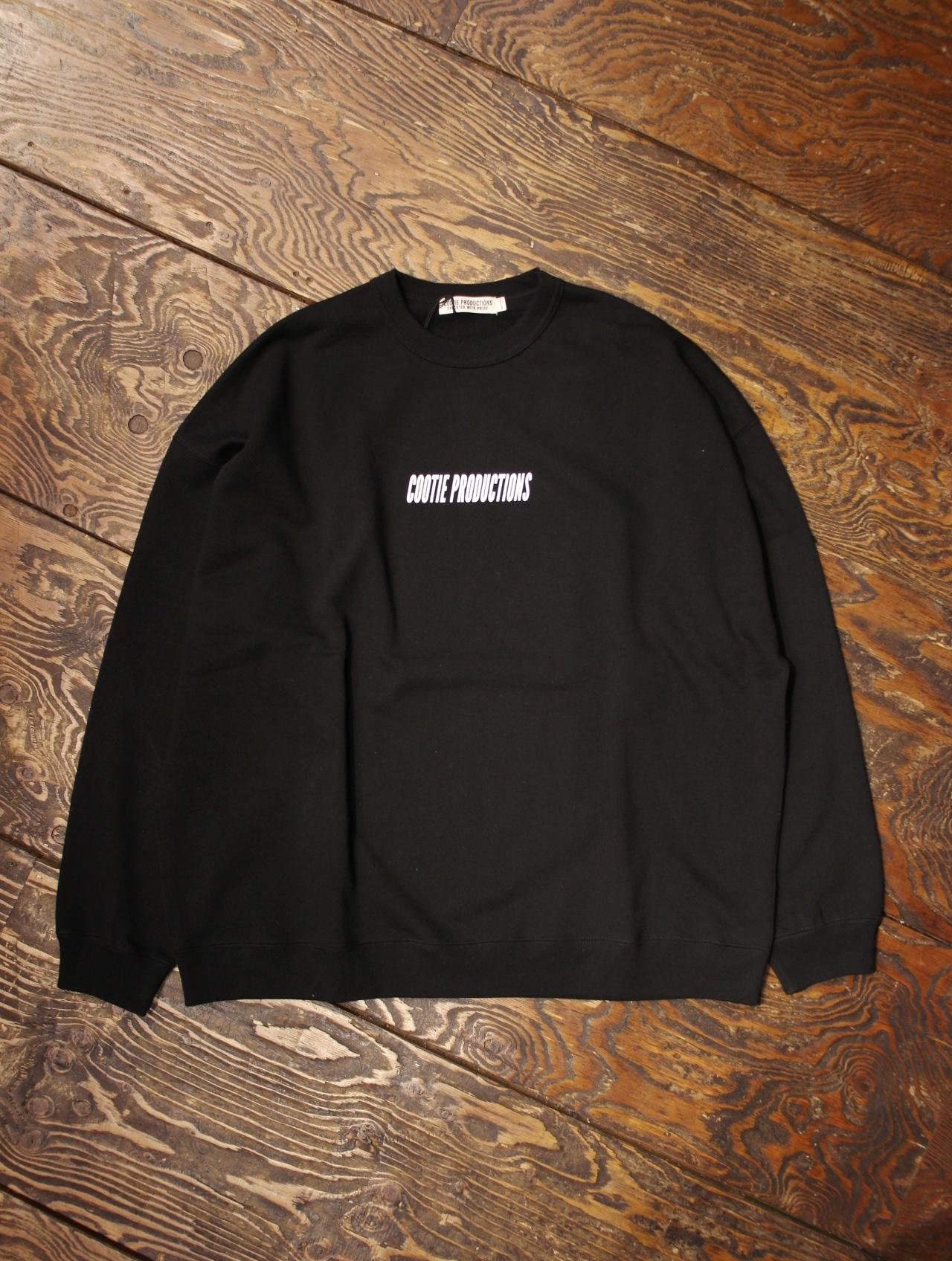 【NEW YEAR LIMITED ITEM !! 】  COOTIE  「 Familia Crewneck Sweatshirt (LOGO) 」 スウェットシャツ