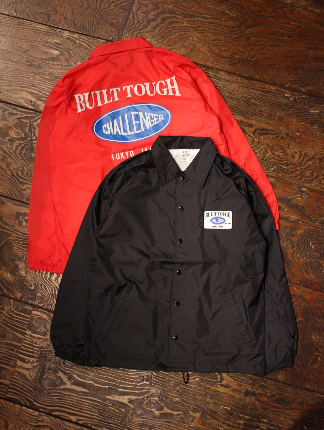 【NEW YEAR LIMITED ITEM !! 】 CHALLENGER  「BUILT TOUGH COACH JACKET」 コーチジャケット