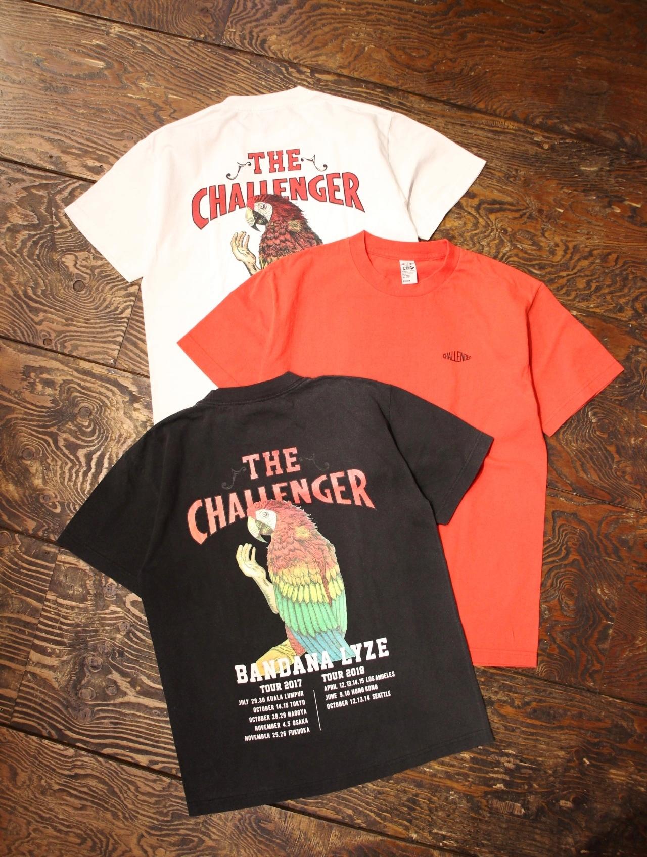 CHALLENGER    「DESIRE TOUR TEE」 プリントティーシャツ