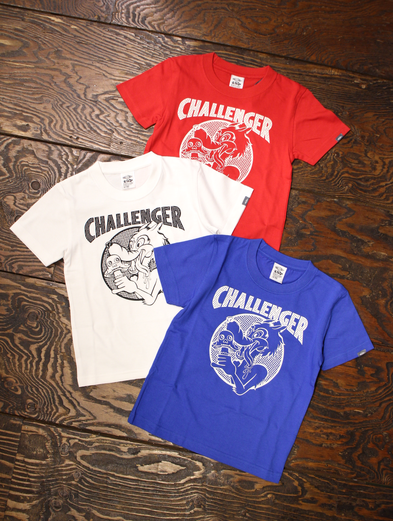 """CHALLENGER   「""""CAN'T STOP"""" KIDS TEE」 キッズティーシャツ"""