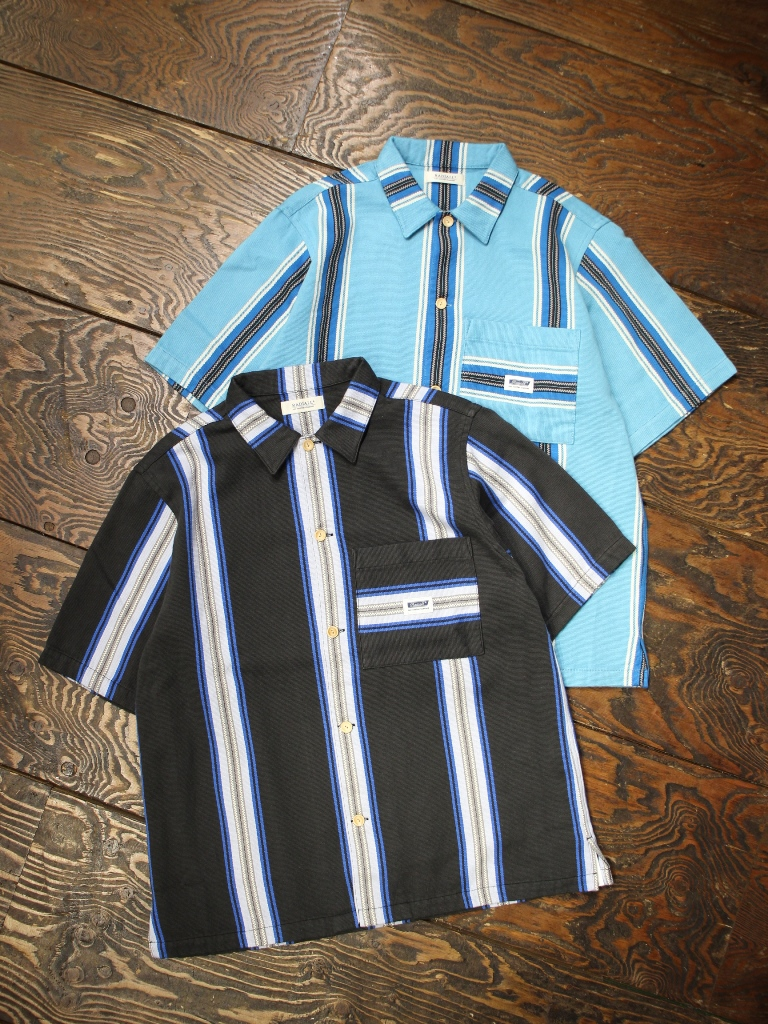 RADIALL  「AZTEC - REGULAR COLLARED SHIRT S/S」  メキシカンジャガードシャツ