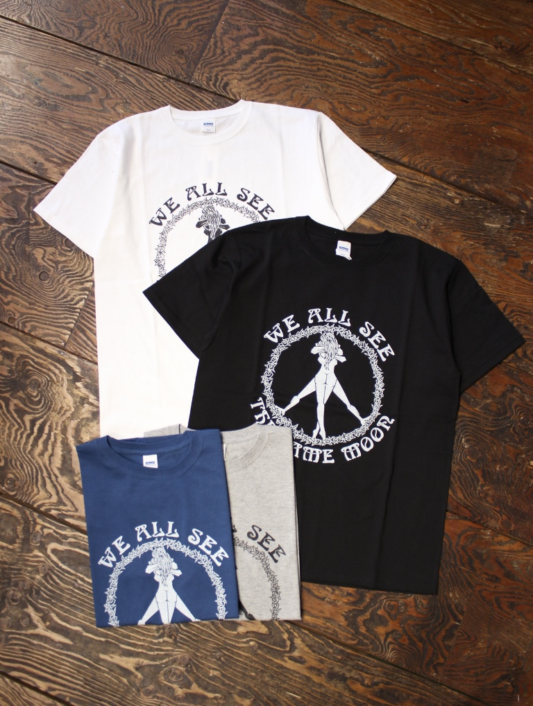 RADIALL  「CIRCLE OF LOVE - CREW NECK T-SHIRT」 プリントティーシャツ