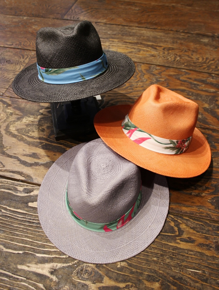 RADIALL   「PURPLE PISTILS-FEDORA HAT」 パナマハット