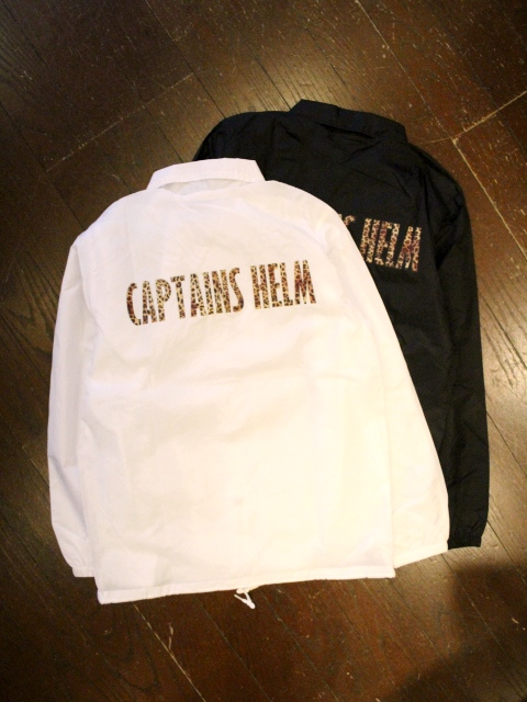 【NEW YEAR LIMITED ITEM !! 】 CAPTAINS HELM  「#LEOPARD COACH JACKET」 コーチジャケット