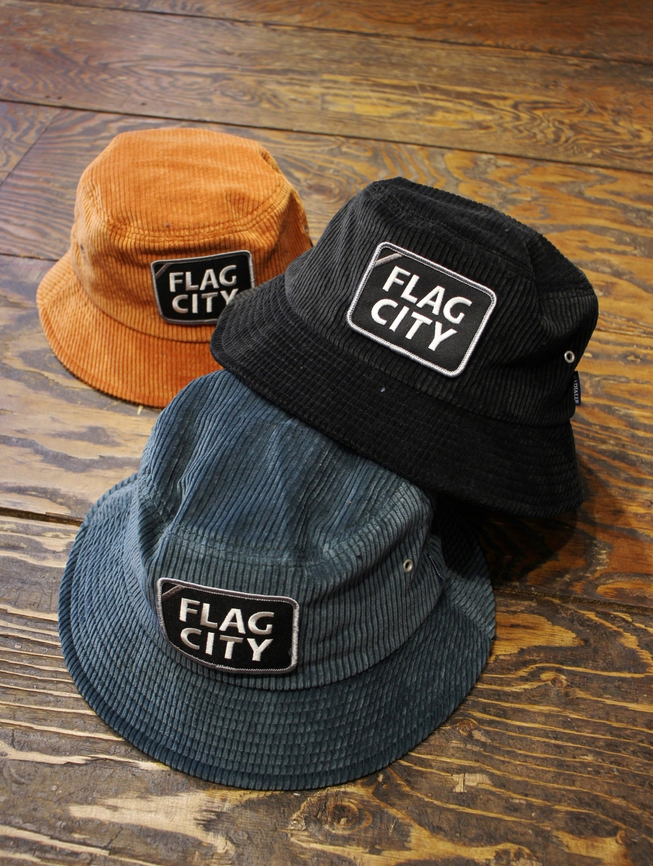 RADIALL  「FLAG CITY - BUCKET HAT」 バケットハット