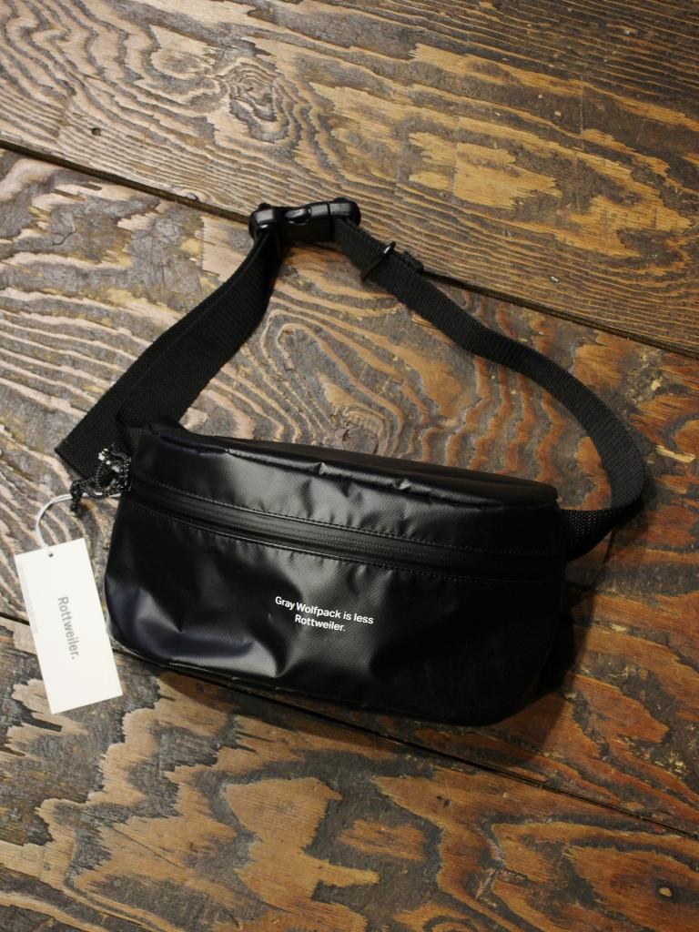 ROTTWEILER  「 PVC WAIST BAG 」  ウエストバッグ