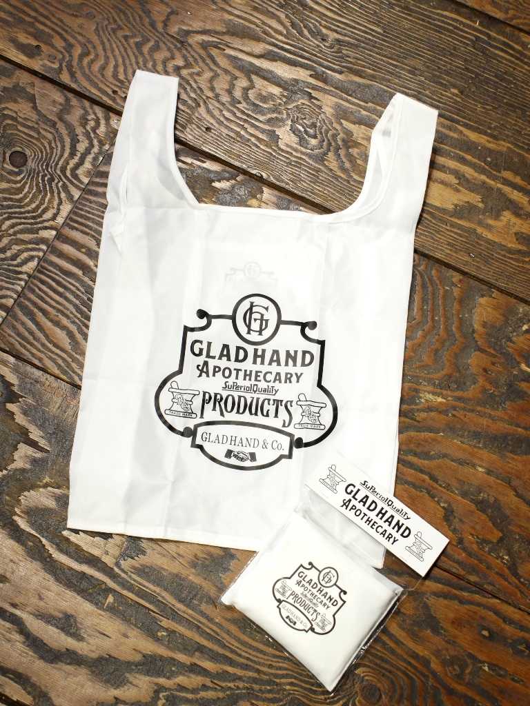 GLAD HAND APOTHECARY  「REUSABLE BAG」 パッカブルエコバッグ