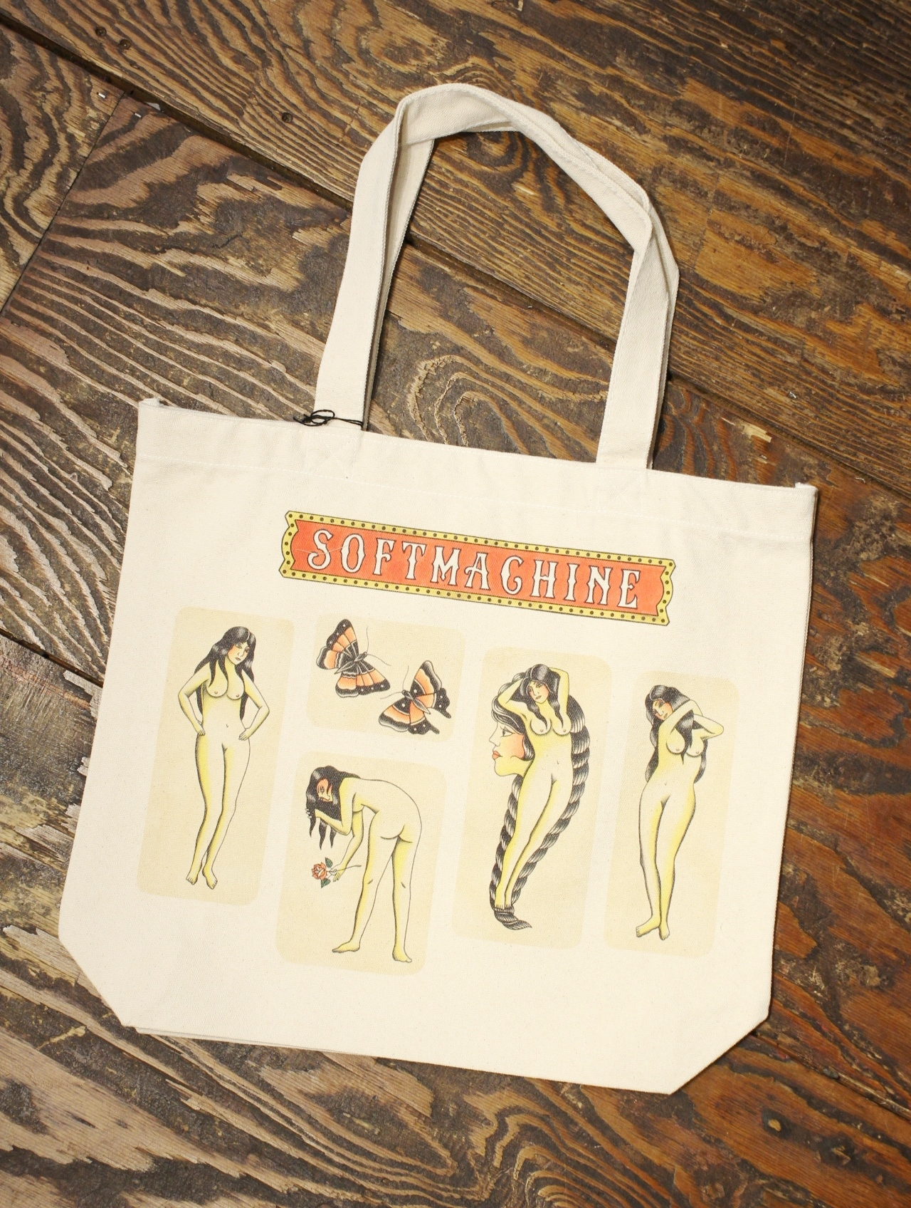 SOFTMACHINE  「RED LIGHT TOTE」 トートバッグ