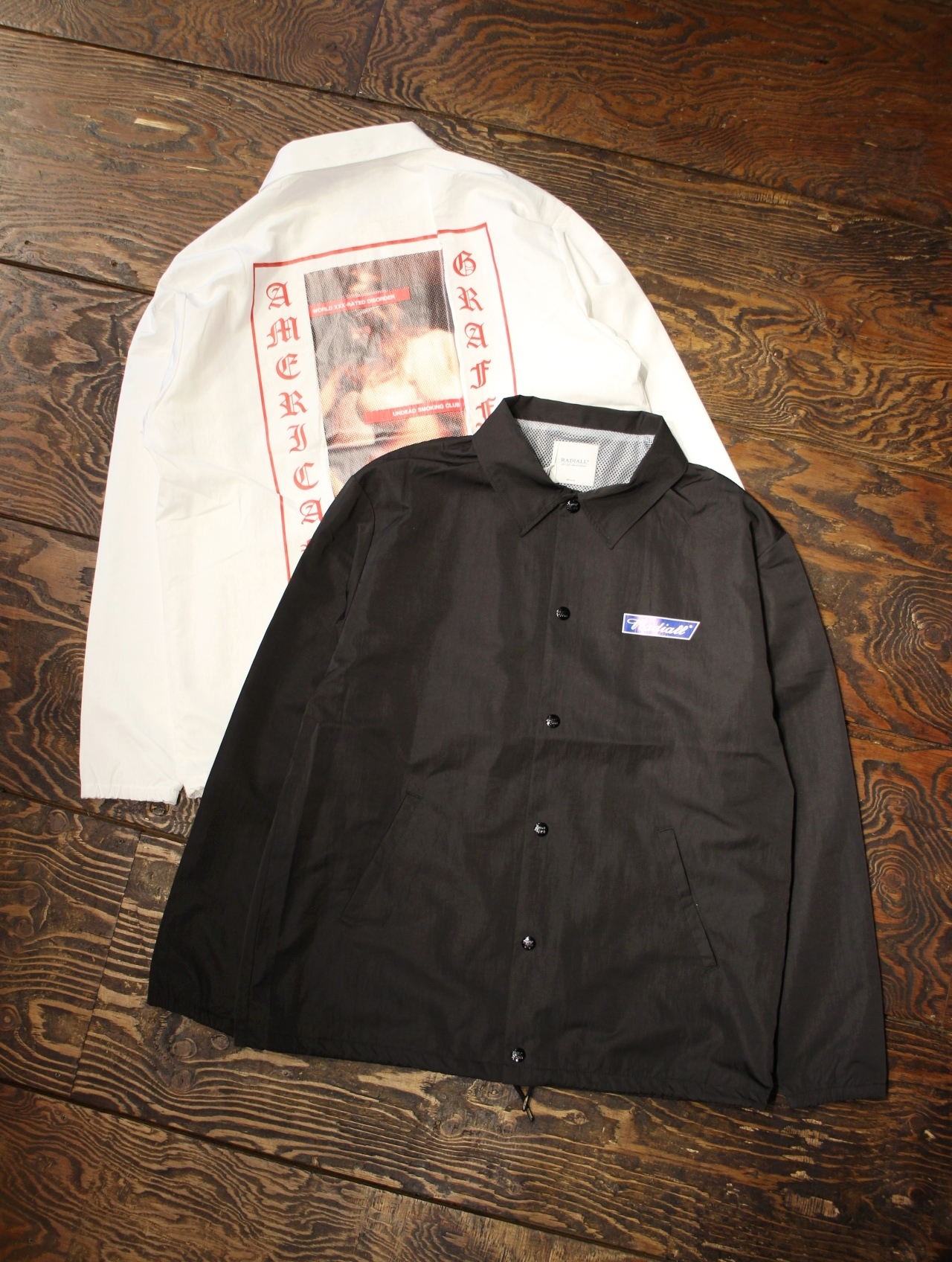 RADIALL 「USC - WINDBREAKER JACKET」  コーチジャケット
